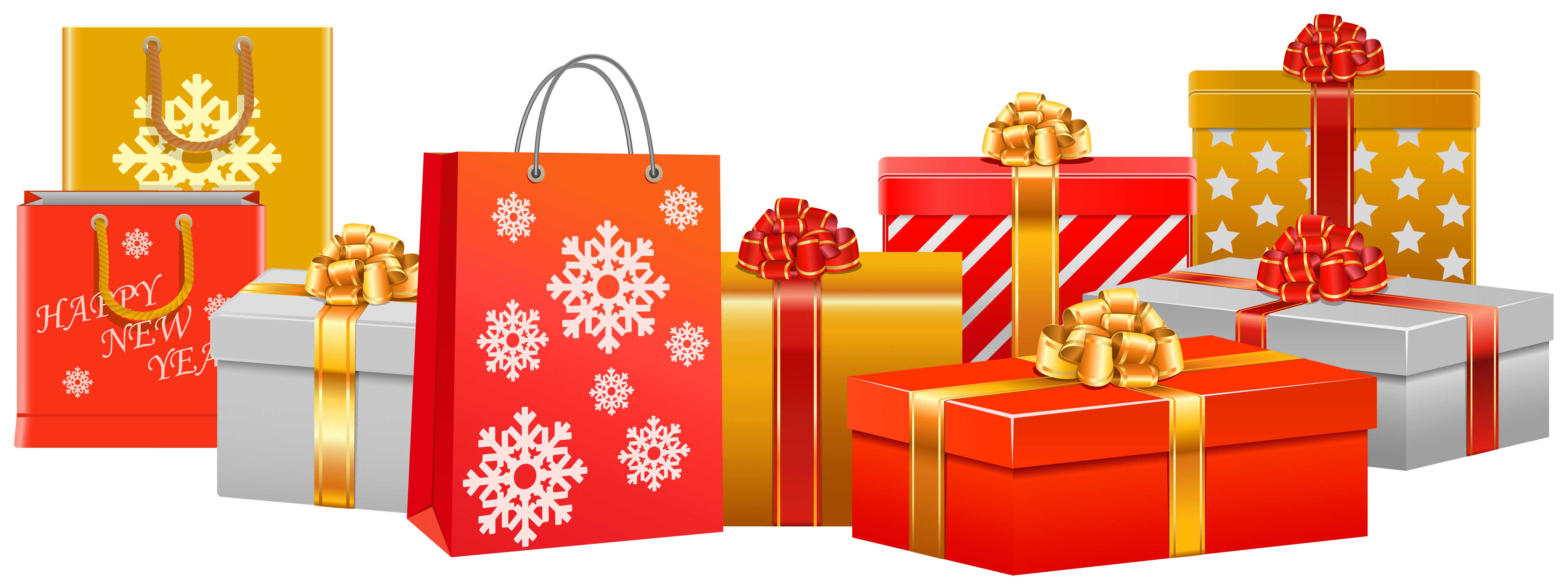 Pile of christmas presents png. Clipart xmas gifts clip