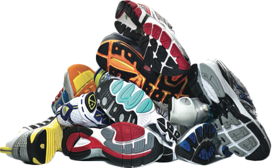 Pile of clothes png. Used men s shoes
