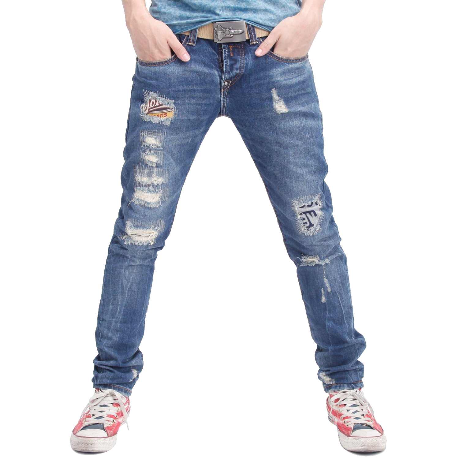 Pile of dirty clothes png. Man with blue jeans