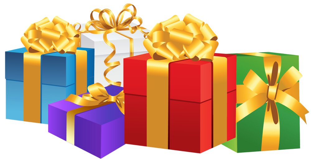 Vector presents gift clipart. Christmas cards clipartroyalty free