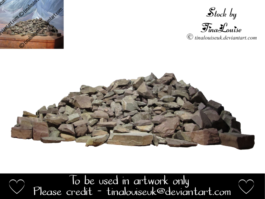 Pile of rocks png. Rock by tinalouiseuk on