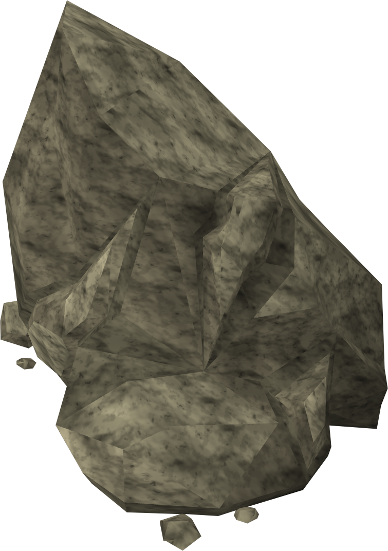 Pile of rocks png. Image rock runescape wiki