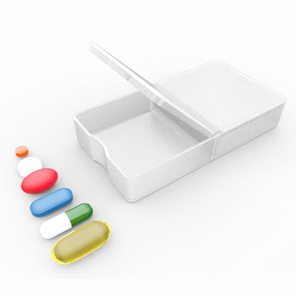 Pill box png. Exchangeable cartridges for smart