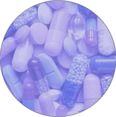 Purpleaesthetic aesthetic purple pills
