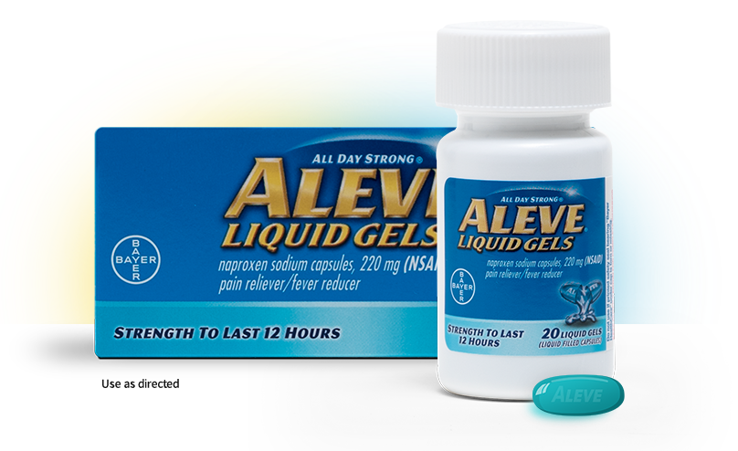 Pill transparent gel. What are aleve naproxen