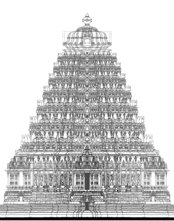 Pillar Drawing Hindu Temple Transparent Png Clipart Free Download