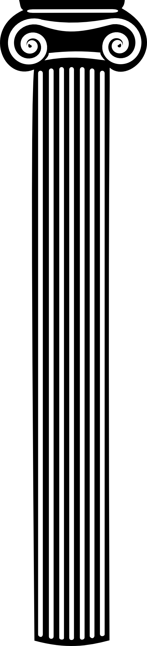 Pillar drawing simple. Collection of png