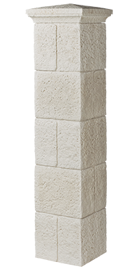Pillar transparent renaissance. Stone portal classic and
