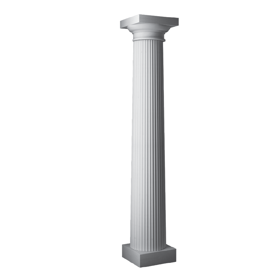 Pillar transparent window. Column png images free