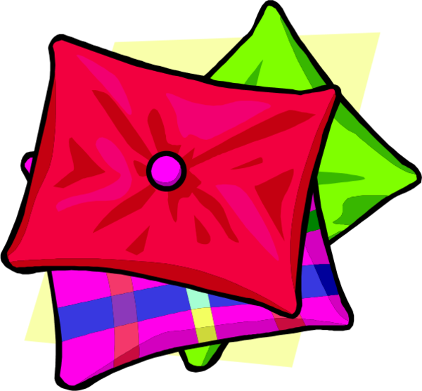 Square clipart cushion. Free pillow cliparts download