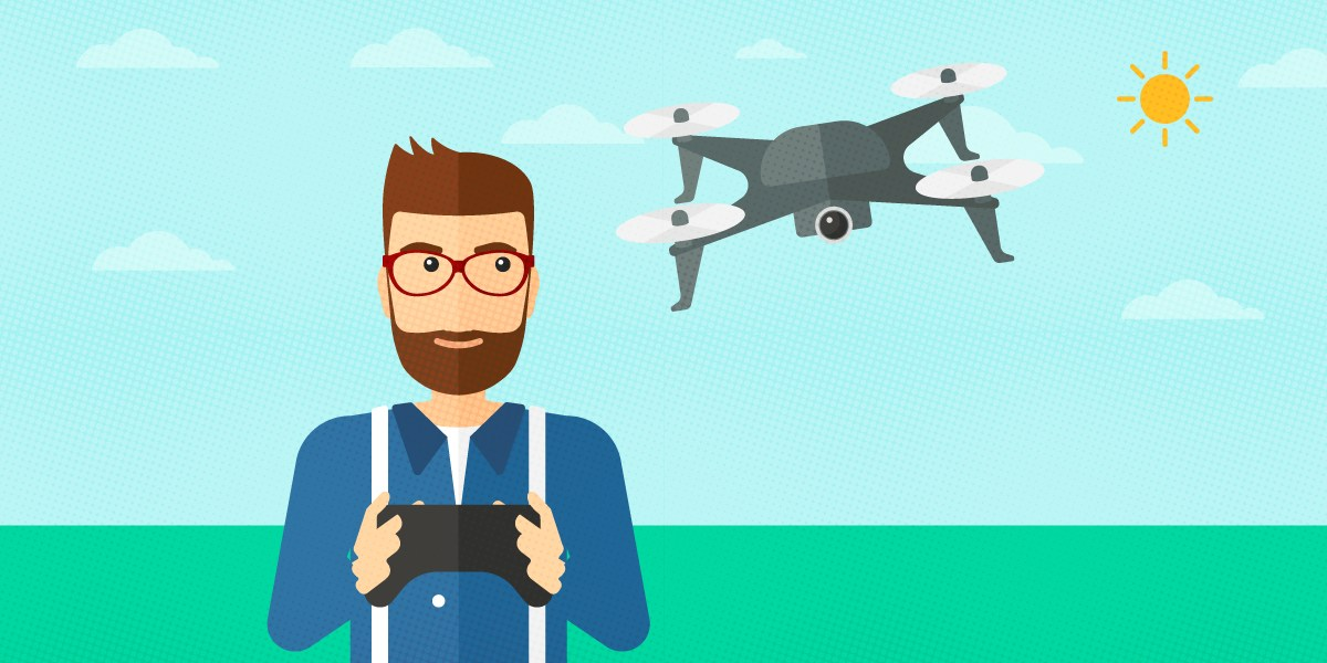 Meet the new drone. Pilot clipart pilot indian clip royalty free stock