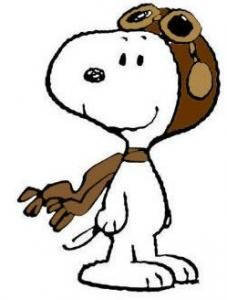 Peanuts mais. Pilot clipart snoopy png royalty free download