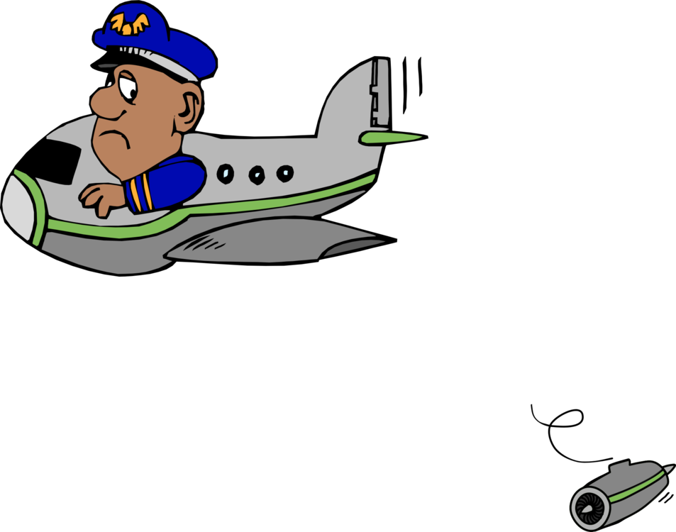 Pilot drawing. Airplane fighter cartoon free