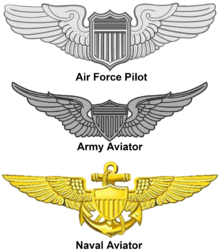 Pilot drawing military. United states aviator badge