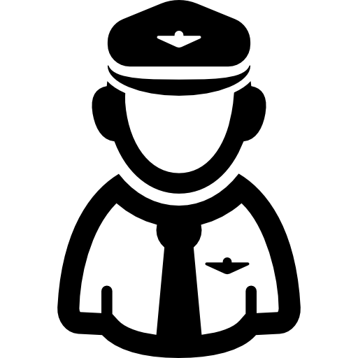 Pilot drawing person. Icons free download demo