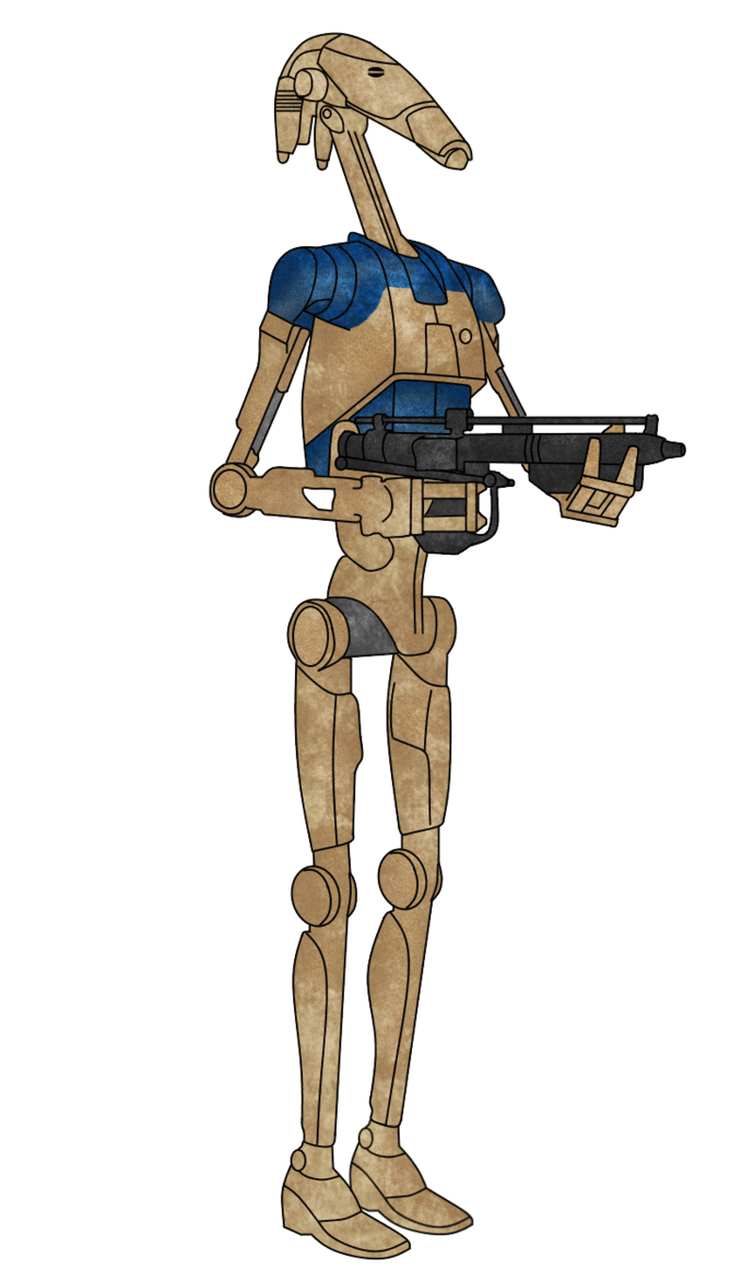 Pilot drawing sci fi. Oom droid by luca