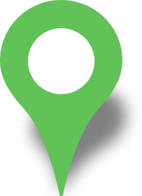 green map pin png