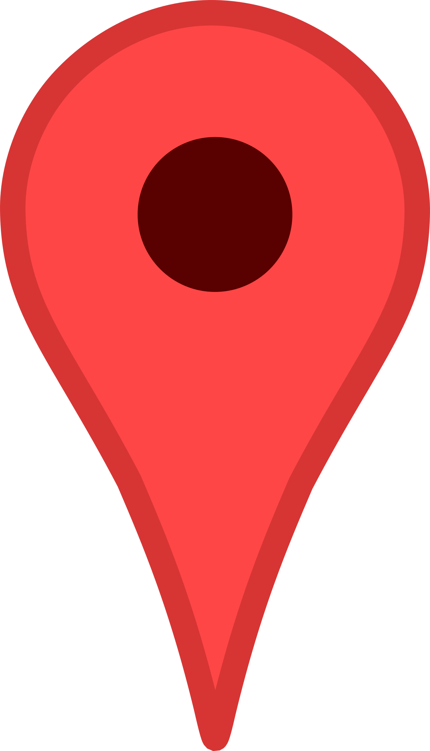 Red location pin png. Clipart map big image