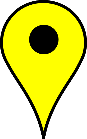 Map pins png. Pin yellow clip art