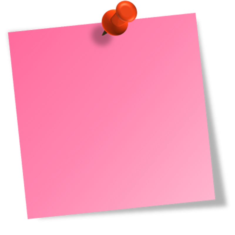 Free download clip art. Colorful post it notes png jpg transparent download