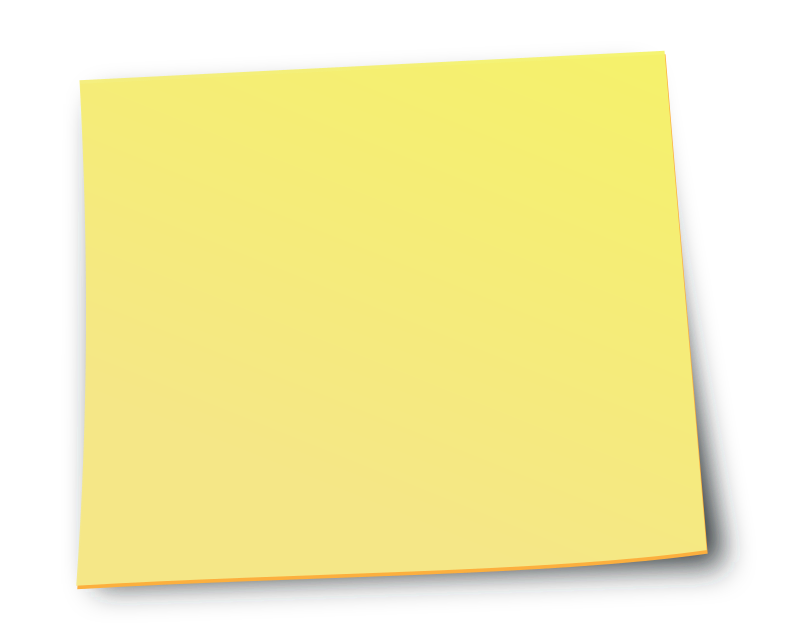 Sticky clipart animated. Note medium image png