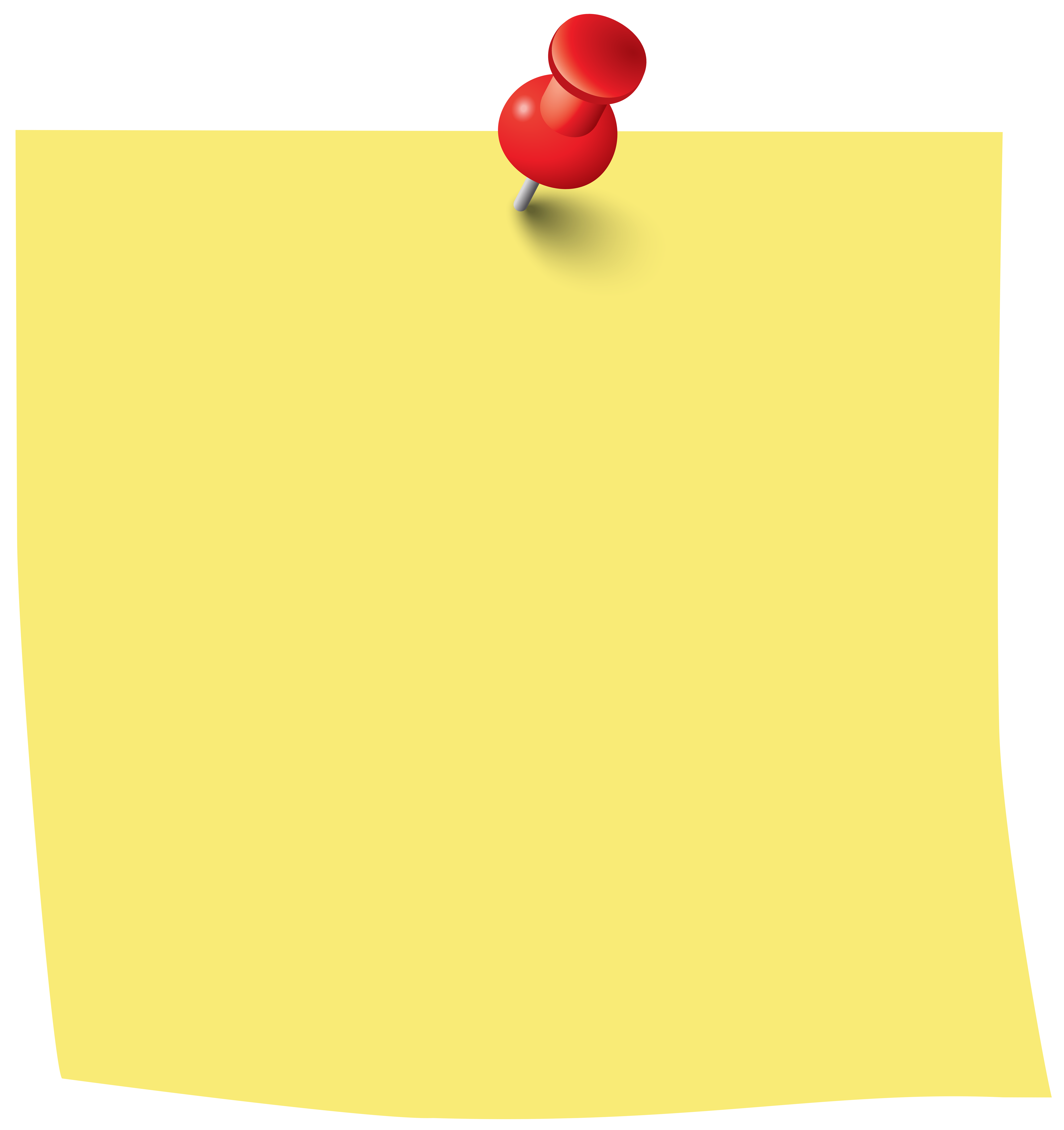 sticky note pin png