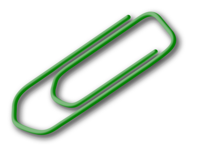 Pin drawing. Paper clip free commercial
