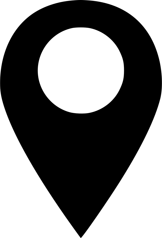 Pin png icon. Map location marker glyph