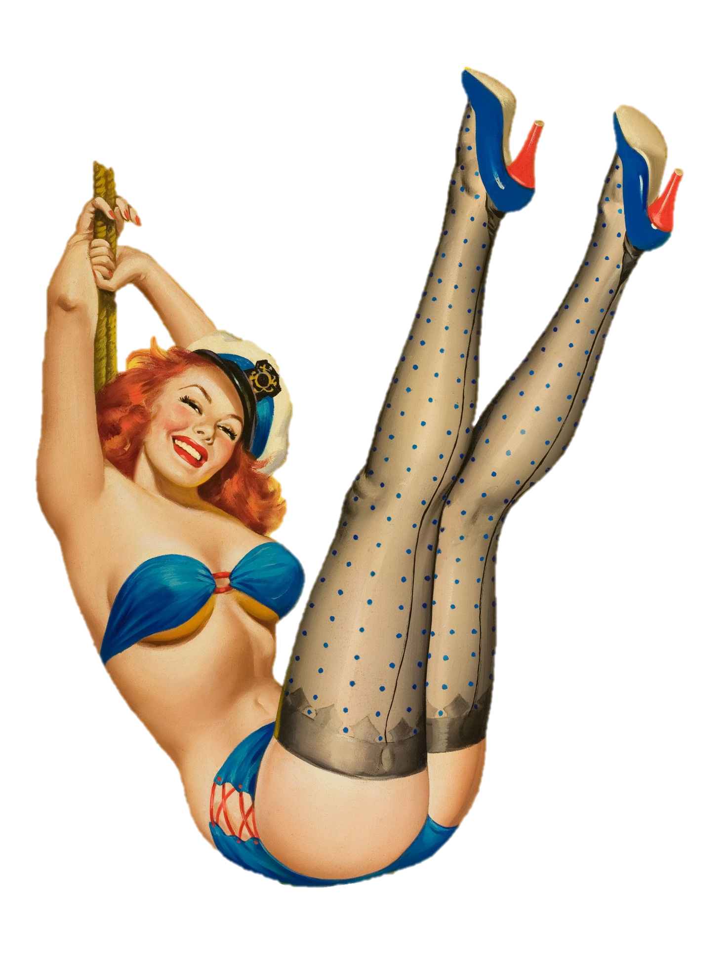 Pin up girl png. File first mate wikimedia
