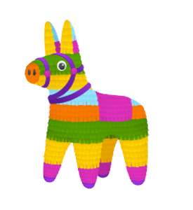 Special listing baby animals. Pinata transparent clipart library stock