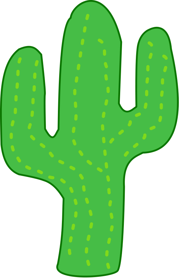 Cactus clipart. Free cartoon pictures download