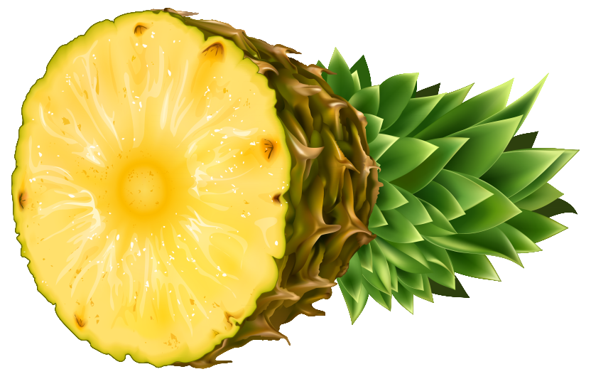 Cartoon pineapple png. Clipart image gallery yopriceville