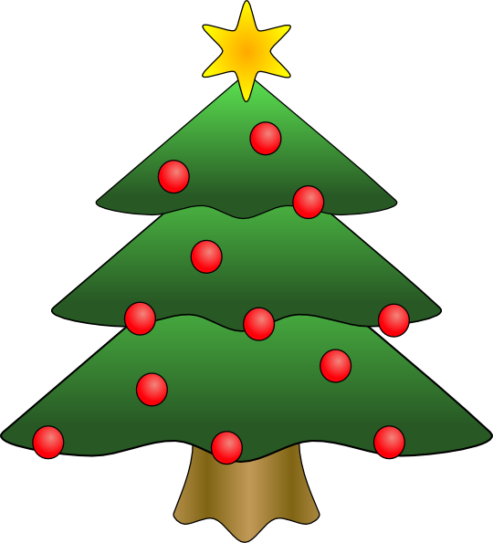 Pine clipart animated. Christmas tree in snow