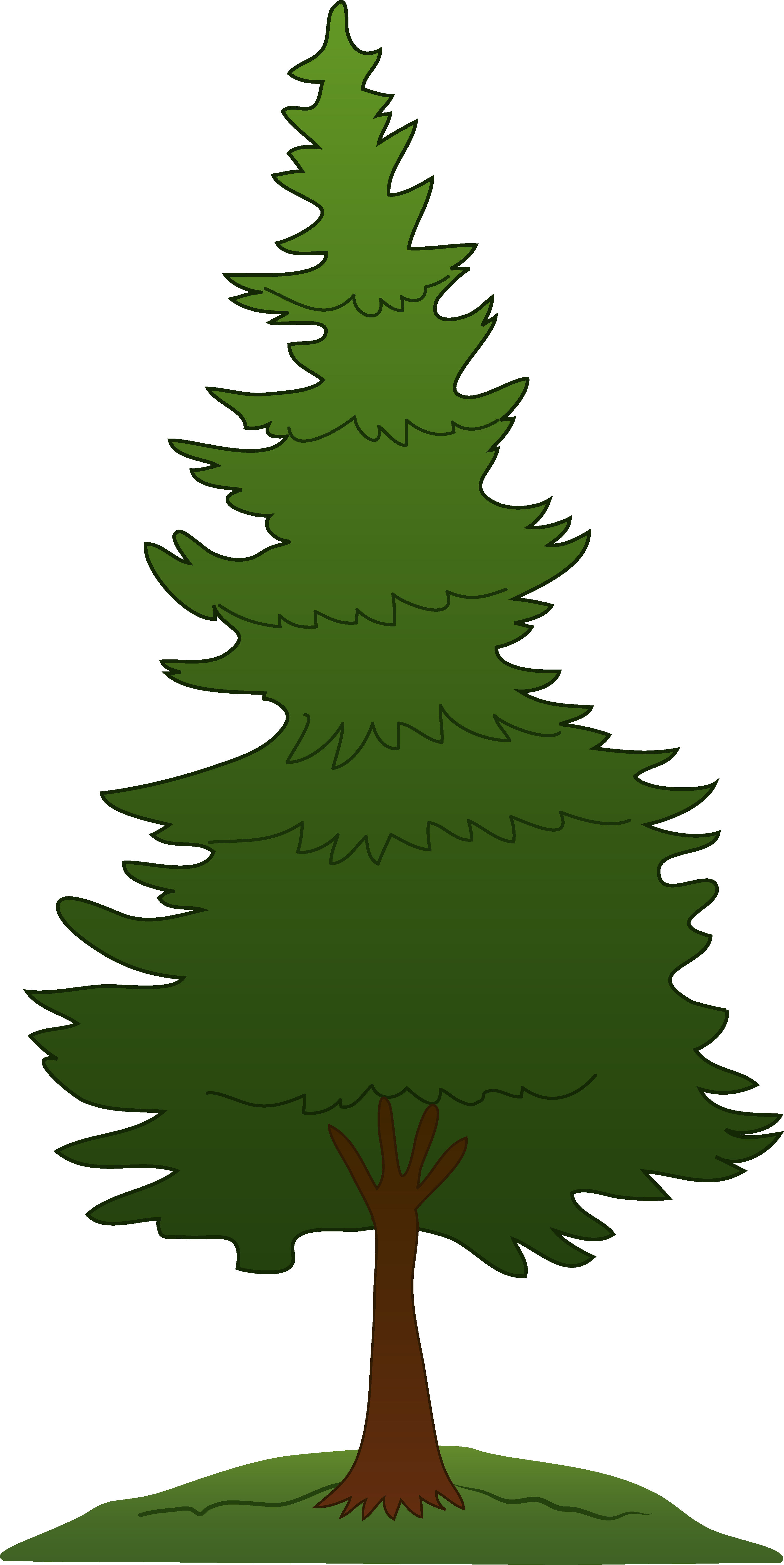 Pine clipart bunch tree. Clip art free projects