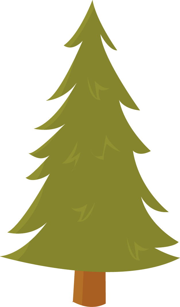 Pine clipart bunch tree. Minus say hello holiday