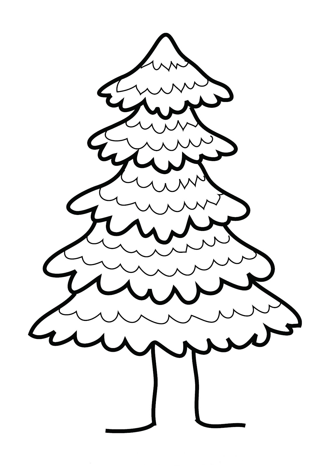 Pine clipart cute. New tree black and