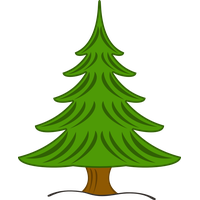 Pine clipart three. Download tree category png