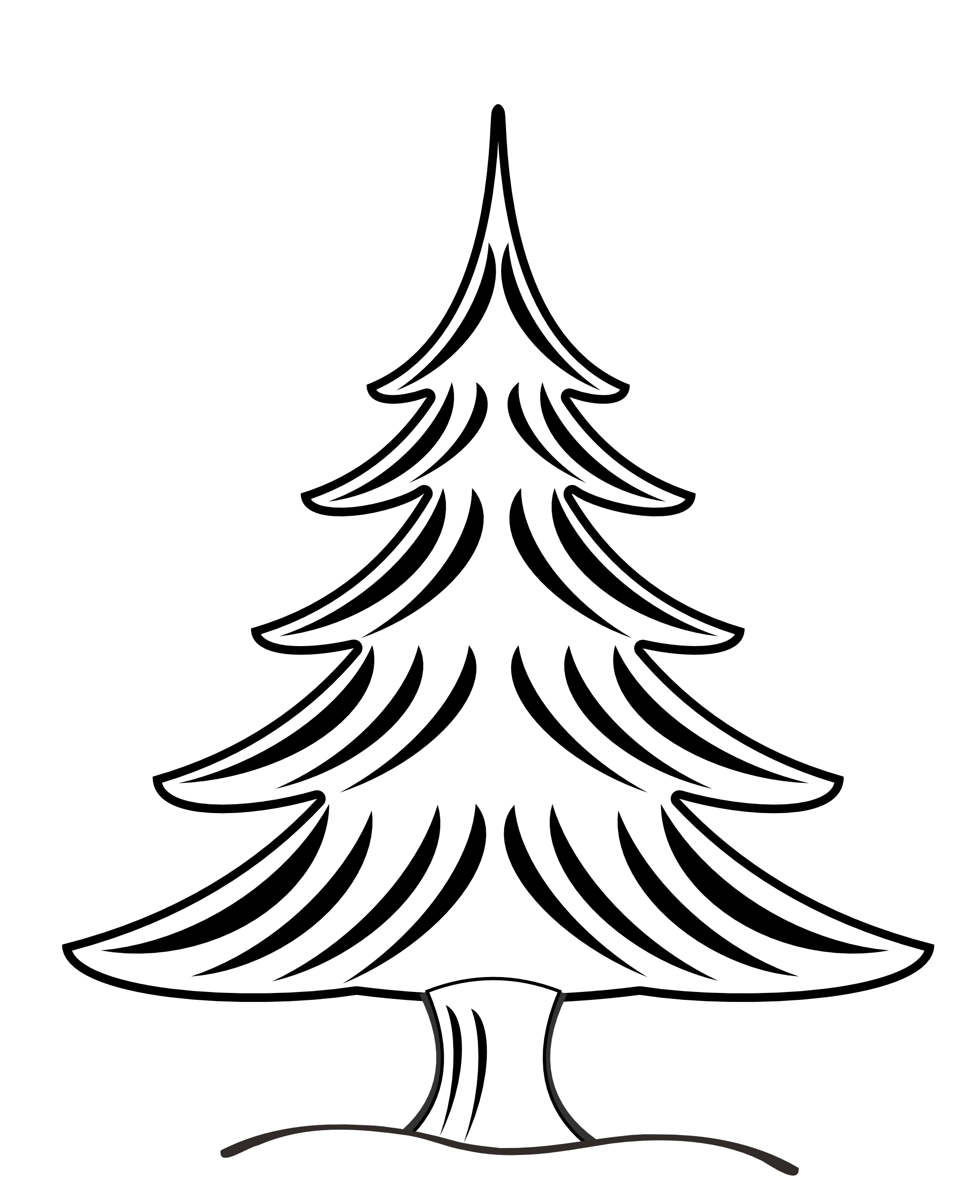 Pine drawing stick. Tree clipart at getdrawings