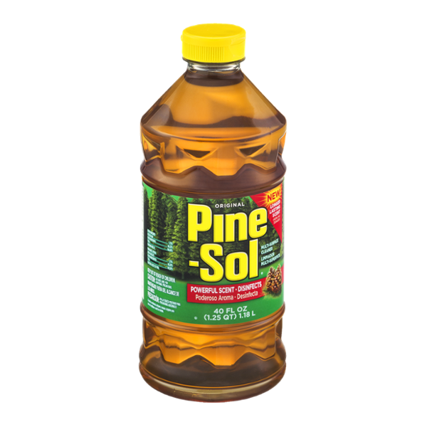 Pine sol png. Multi surface cleaner original