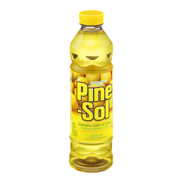 Pine sol png. Multi surface cleaner lemon