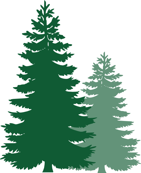 Tree free . Pine trees clipart png vector library library