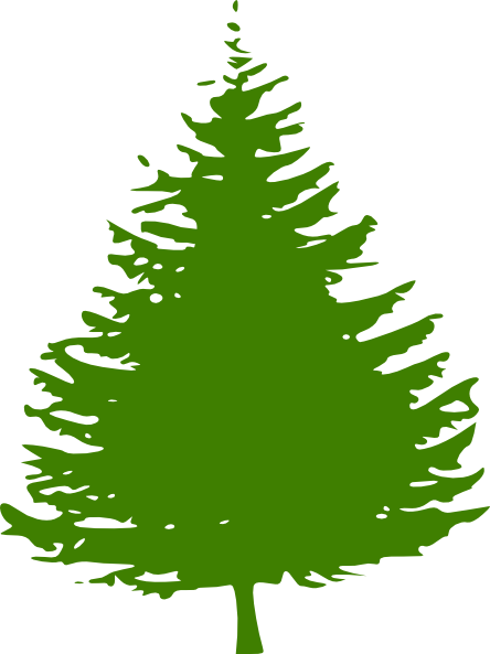 Pine tree graphic png. Clip art at clker