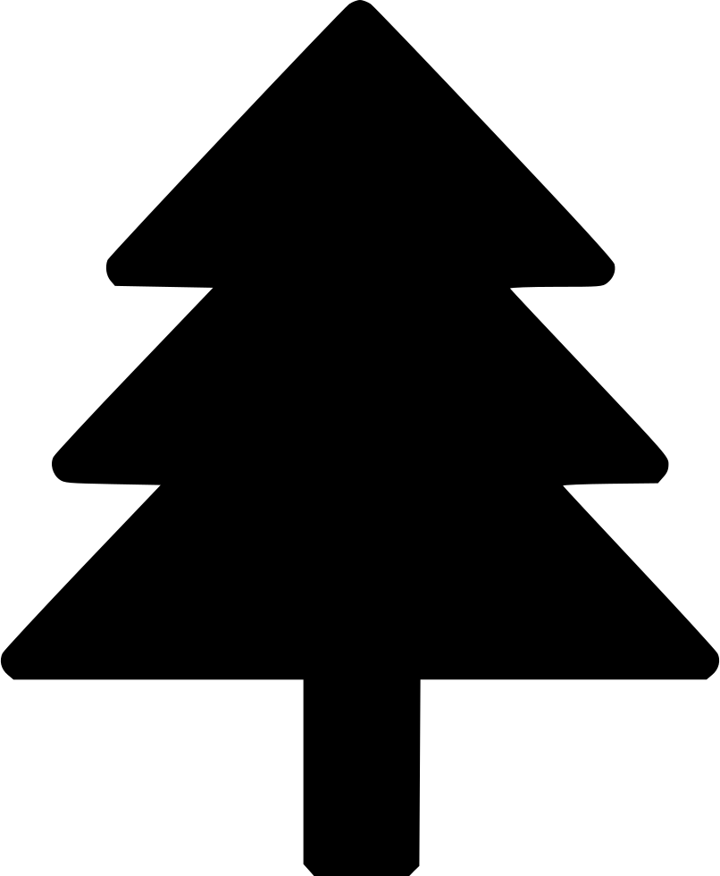 Pine tree icon png. Large christmas svg free