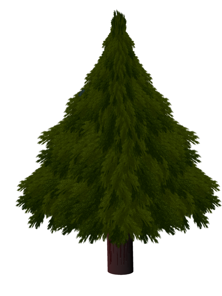 Pine tree pixel png. Christmas by omagrandmother on