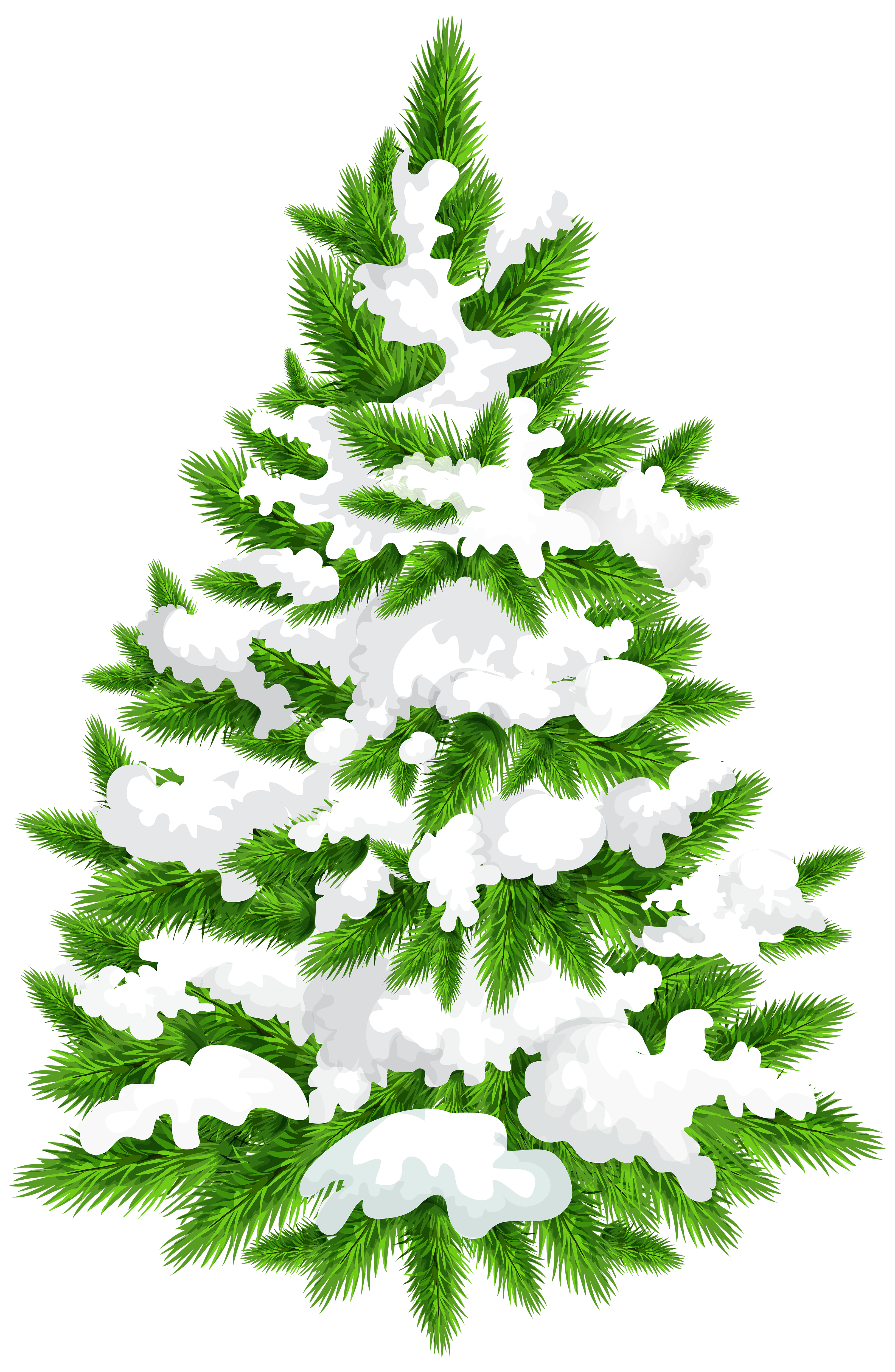 Pine trees clipart png. Snowy tree clip art