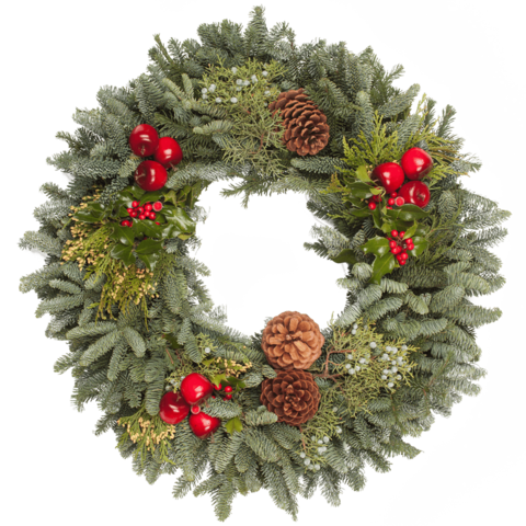 Christmas Wreath Png.Pine Wreath Transparent Png Clipart Free Download Ywd