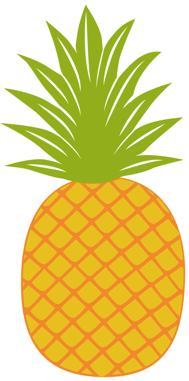 Pineapple clipart fancy. Svg cut file snap