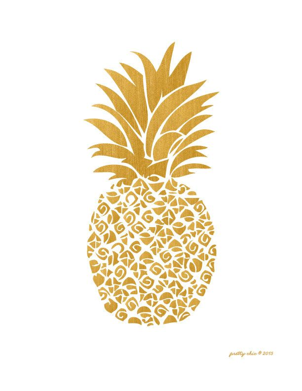 Pineapple clipart fancy. Best print images