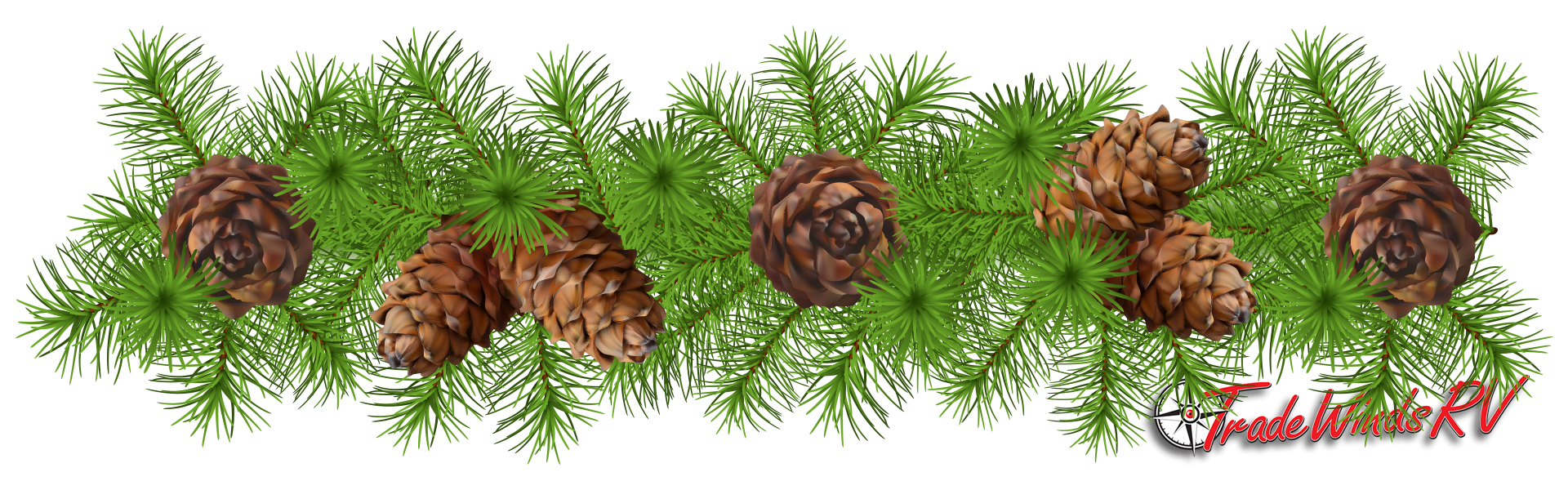 Pinecone clipart pinecone garland. Woodland decorations diy tradewinds