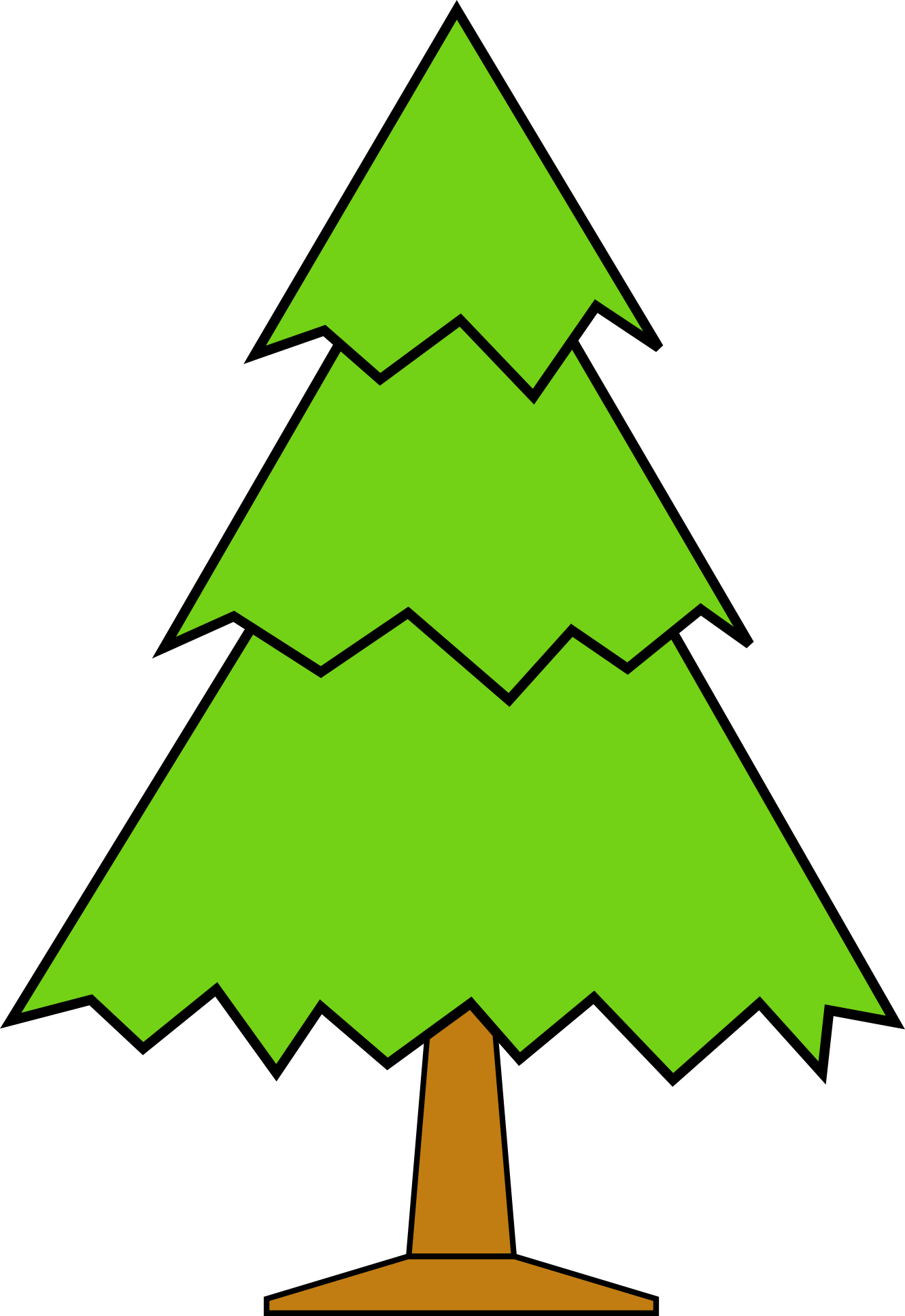 Pinetree vector alpine tree. Pine clipart at getdrawings
